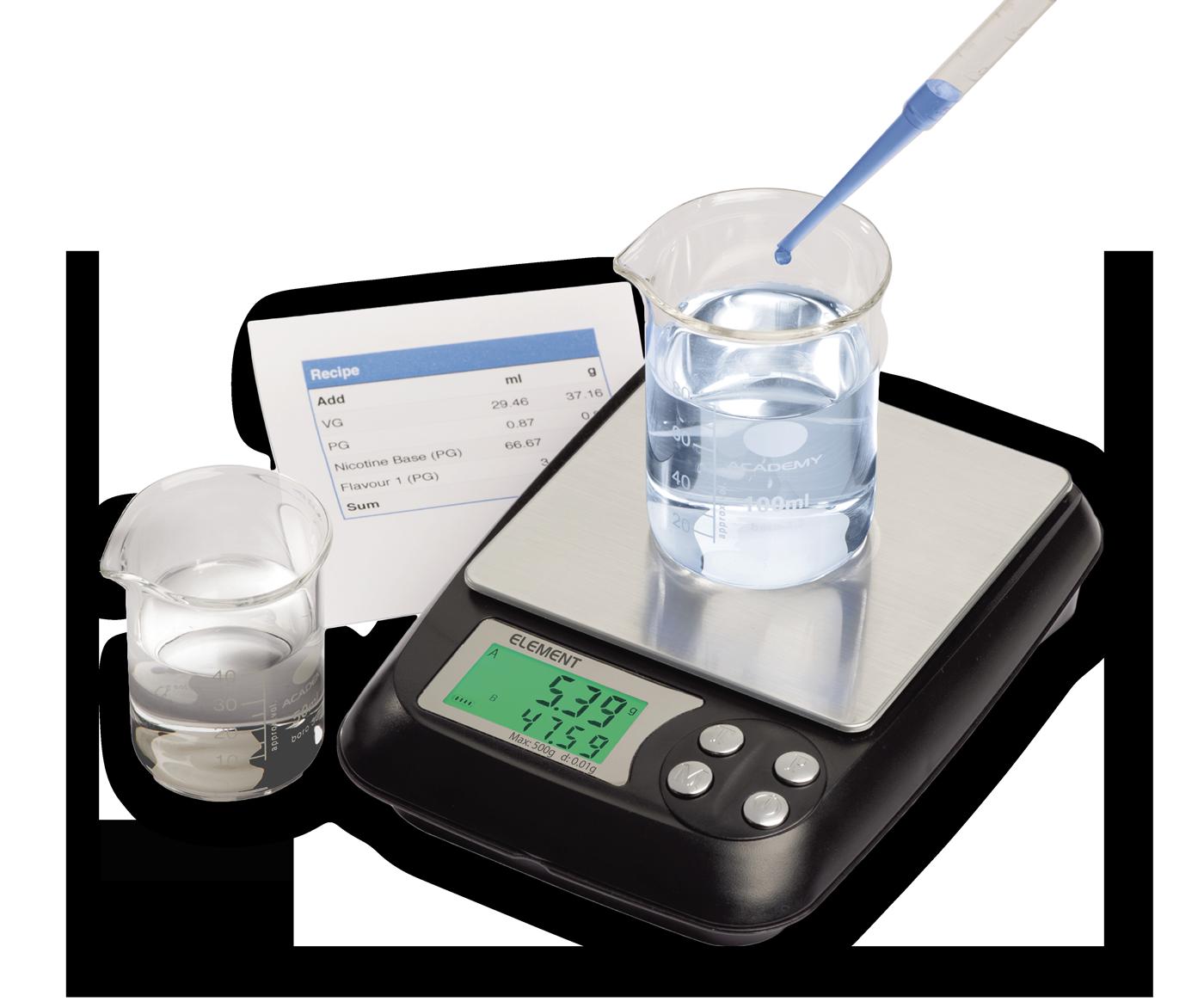 E-Liquid Scales