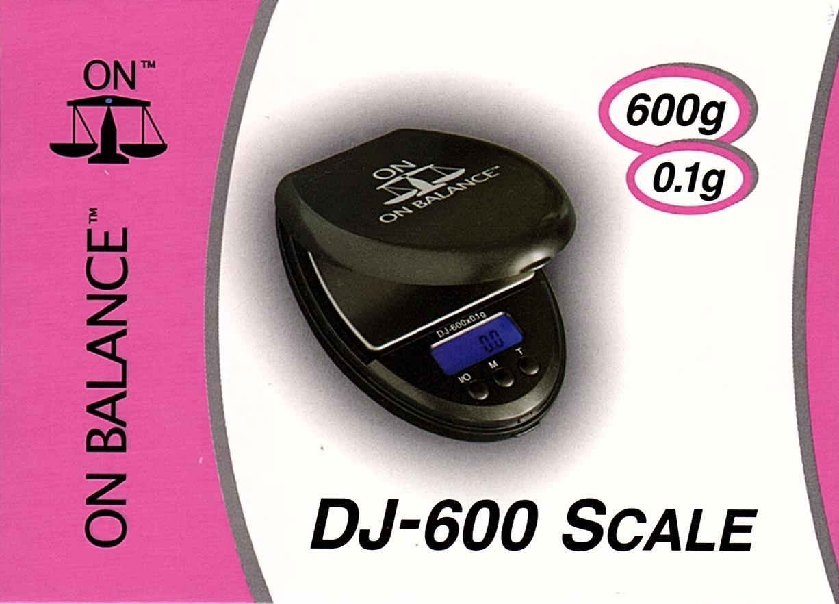 On Balance Scale DJ-600  ( 600g x 0.1g )