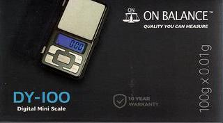 On Balance Scale DY-100  ( 100g x 0.01g )