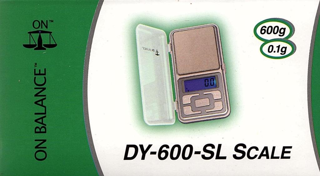 On Balance Scale DY-600  ( 600g x 0.1g )
