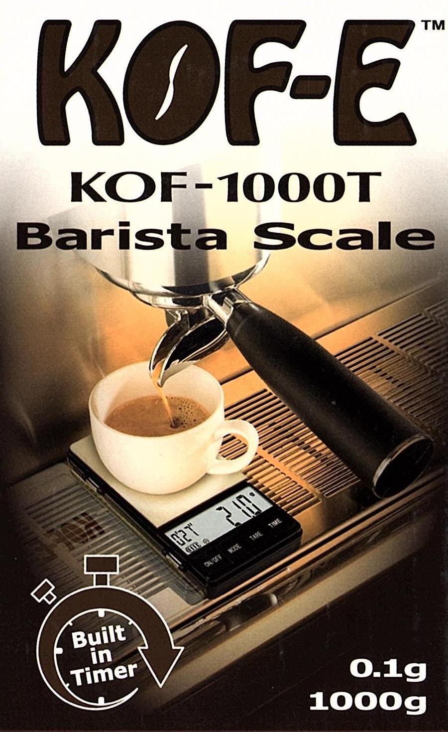 On Balance Coffee Scale KOF-1000T (1000g x 0.1g)