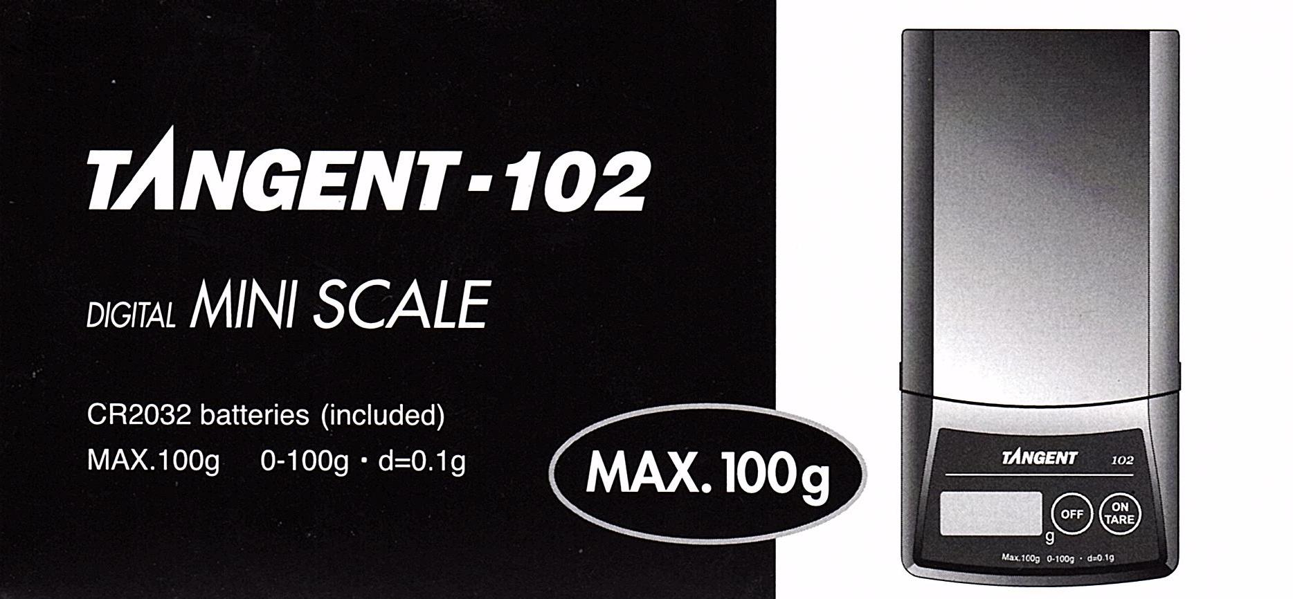 Tanita Tangent  Scale 100g x 0.1g