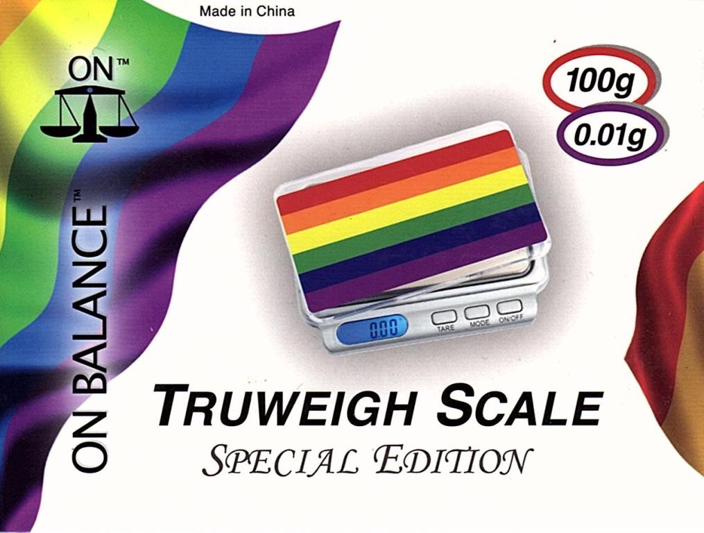 On Balance Scale Truweigh TW-100PRD  ( 100g x 0.01g )