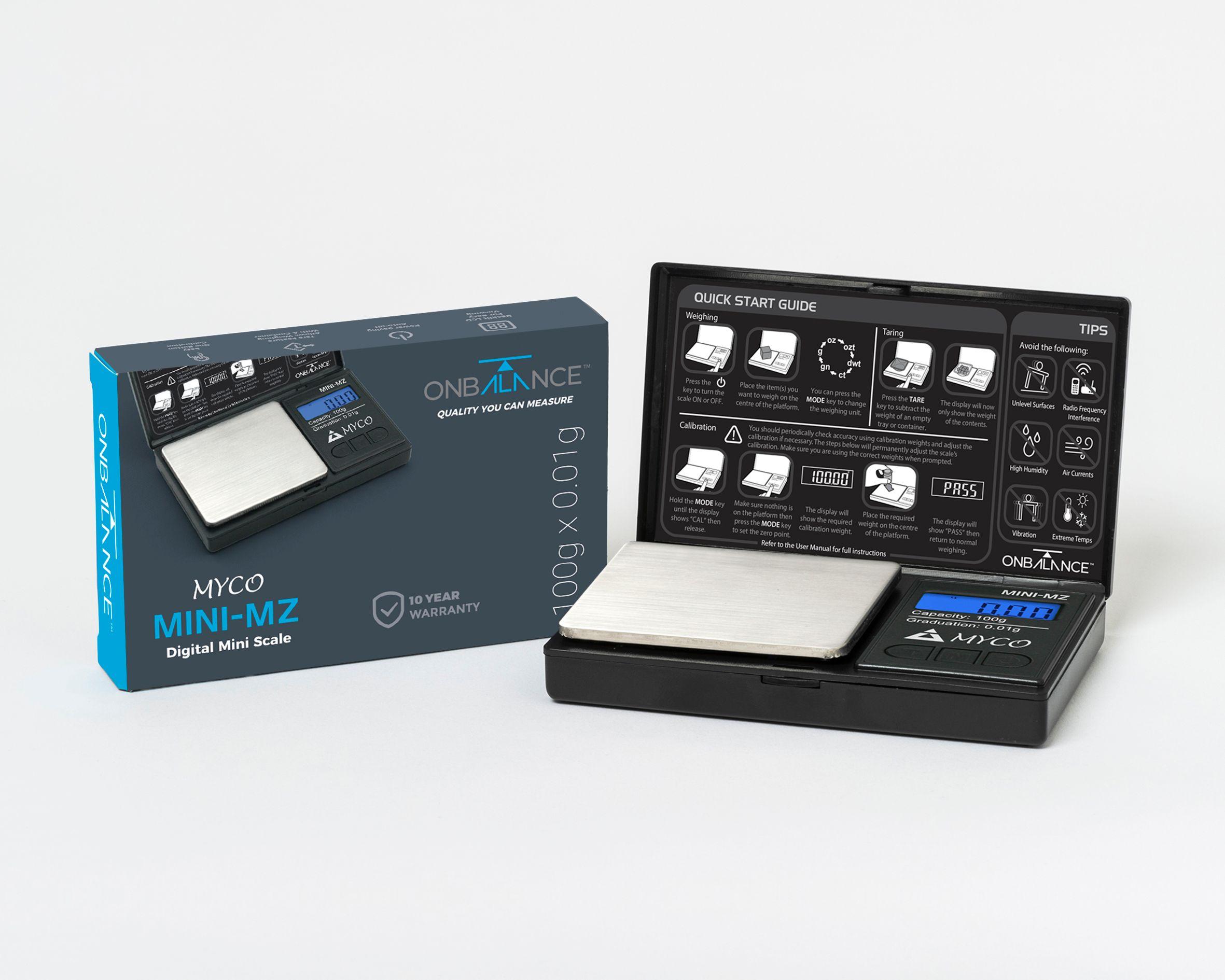 On Balance Myco MINI MZ Scale 100g x 0.01g