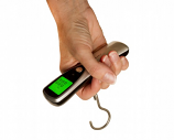 On Balance Luggage Scale 40Kg x 10g